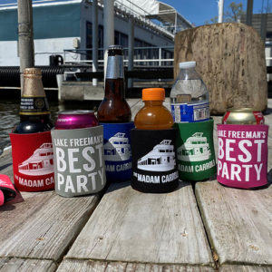 Madam Carroll Ship Faced Koozies