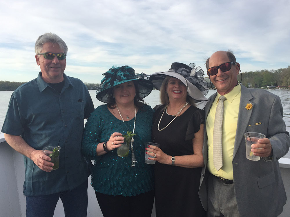 The Kentucky Derby Cruise on the Madam Carroll